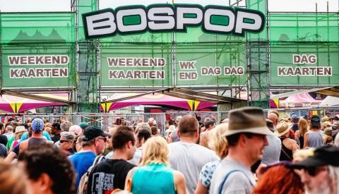 Zaterdag 10 uur: Start voorverkoop Bospop 2020