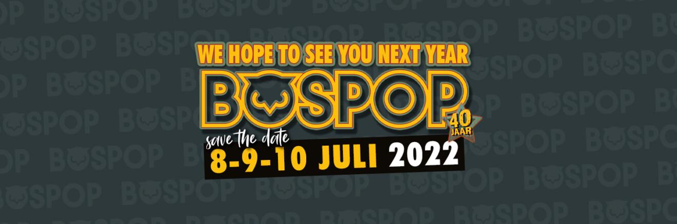 Bospop: Green light for new FestiFallz festival on 8, 9 and 10 October 5
